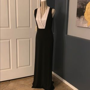 2/$15 Calvin Klein Long Formal sequin Dress